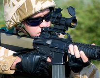 British soldier Stock Photo