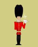 British Soldier illustration Stock Photography