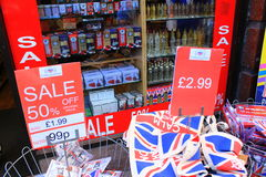 British souvenirs Royalty Free Stock Image