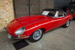 British sports car Jaguar E-Type (Jaguar XK-E) Royalty Free Stock Image