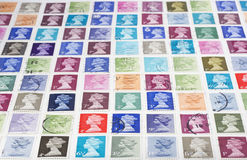 British Stamps Stock Photography