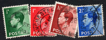 British stamps Royalty Free Stock Photography