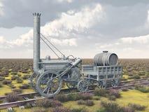 British steam locomotive from 1829 Stock Image