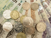 British Sterling Pounds Royalty Free Stock Images