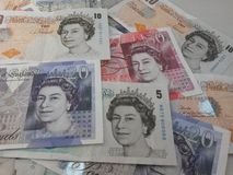 British Sterling Pounds Royalty Free Stock Photo