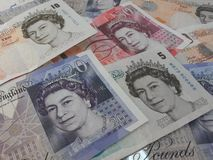 British Sterling Pounds Royalty Free Stock Photography