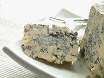 British stilton blue cheese Royalty Free Stock Image