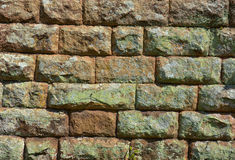 British Stone Wall Royalty Free Stock Photo