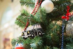 British style christmas tree stock image