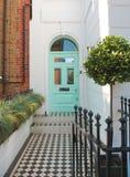 British style door Stock Images