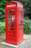 British Style Phone Booth Royalty Free Stock Image