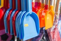 Summer beach spades for sale Stock Photography