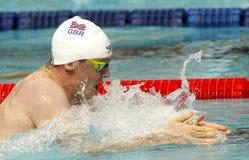 British swimmer Ross Murdoch Royalty Free Stock Photos