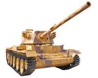 British tank Charioteer Mk.7. British Medium Tank 1950. Isolation on a white background Royalty Free Stock Image