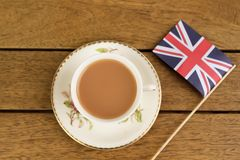 British Tea Stock Images