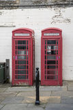 British telecom cabins Royalty Free Stock Photos