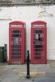 British telecom cabins Royalty Free Stock Photos