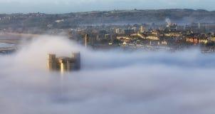 British Telecom dominent Swansea Photographie stock