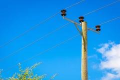British Telegraph Pole Stock Photography