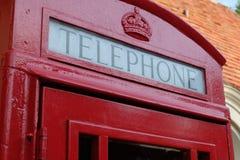 British Telephone Booth. The quintessential British telephone booth Royalty Free Stock Photography