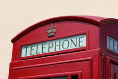 British Telephone Box Stock Photography