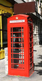 British telephone box Royalty Free Stock Photos