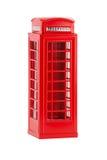 British telephone box, isolated on a white background Royalty Free Stock Image