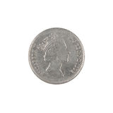 British ten pence coin Royalty Free Stock Photography