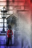 British textured background Stock Images