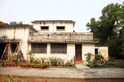 British time old houses in IIT Roorkee campus. ROORKEE, INDIA - JULY 03: Old British time houses for faculty residence in the campus IIT Roorkee on July 03, 2015 Royalty Free Stock Photography