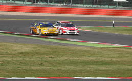 British Touring Cars Royalty Free Stock Photography