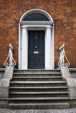 British traditional door Royalty Free Stock Images