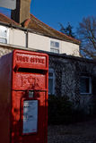 British traditional red mail box Royalty Free Stock Photo