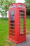 British Traditional Red Telephone Box royalty free stock image