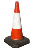British traffic road works cone. Stock Photo