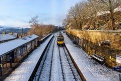 British train ride Stock Image