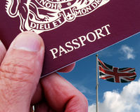 British traveller royalty free stock photos