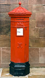 British Victorian Hexagonal Royal Mail Postbox. Stock Photos