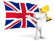 A British Victory Royalty Free Stock Photos