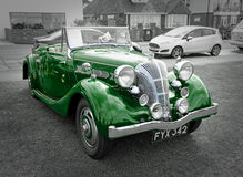 British vintage classic triumph dolomite Royalty Free Stock Photos