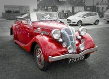 British vintage classic triumph dolomite Royalty Free Stock Images