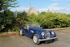 British vintage sports car Royalty Free Stock Photography
