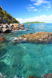 The British Virgin Islands. Amazing British Virgin Islands on a beautiful sunny day Stock Photo
