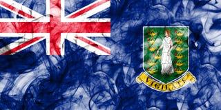 British Virgin Islands smoke flag, British Overseas Territories,. Britain dependent territory flag Stock Images