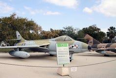British warplane Hawker-Siddeley  Hunter Stock Photo
