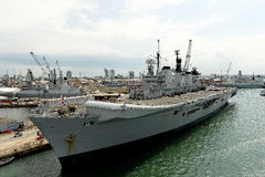 British Warships Royalty Free Stock Photography