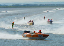 British Waterski Racing Event Royalty Free Stock Photography