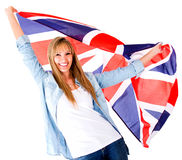 British woman Royalty Free Stock Photos