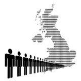 British workforce Royalty Free Stock Photography