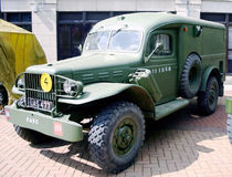 British world war 2 army truck Royalty Free Stock Photography